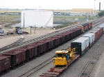 091014008 BNSF all-rail taconite ore empties at Northtown Yard